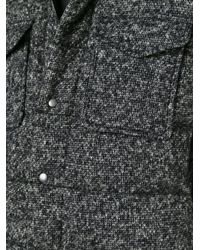 Dolce & Gabbana - Black Quilted Wool-Blend Jacket - Lyst