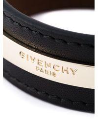 Givenchy - Black 'paris' Bracelet - Lyst