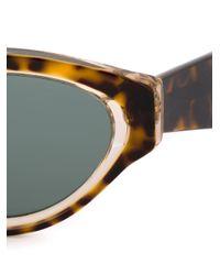 Retrosuperfuture Black 'drew Sagoma' Sunglasses