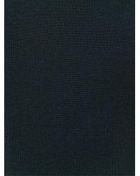 John Smedley - Black Roll Neck Sweater for Men - Lyst