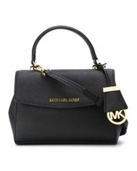MICHAEL Michael Kors | Black Extra Small 'ava' Crossbody Bag | Lyst