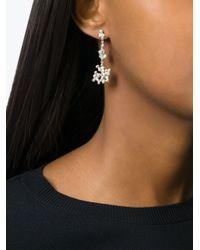 Natasha Collis | Metallic Cobbled Stud Earrings | Lyst