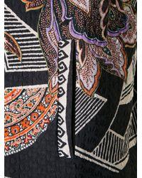 Etro - Orange - Floral Paisley Print Jacket - Women - Silk/polyamide - 44 - Lyst