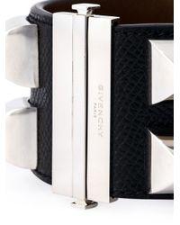 Givenchy - Black Studded Cuff - Lyst
