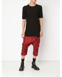 Boris Bidjan Saberi - Black Oversize T-shirt for Men - Lyst