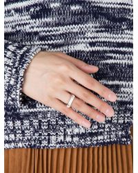 Miansai | Metallic Squared Ring | Lyst
