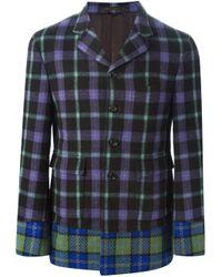 Comme des Garçons - Multicolor Multi Tartan Blazer for Men - Lyst