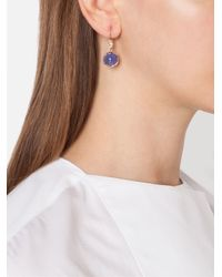 Irene Neuwirth | Blue Tanzanite And Diamond Drop Earrings | Lyst