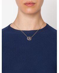 Kimberly Mcdonald - Metallic Geode And Diamond Pendant Necklace - Lyst