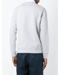 KENZO - Gray 'tiger' Sweatshirt for Men - Lyst