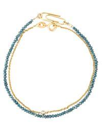 Uzerai Edits | Blue Diamond Bracelet Set | Lyst