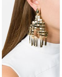 Aurelie Bidermann - Metallic 'marella' Earrings - Lyst