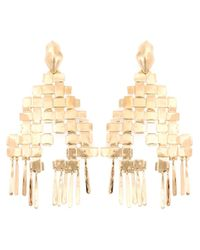 Aurelie Bidermann | Metallic 'marella' Earrings | Lyst