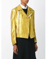 Comme des Garçons - Multicolor Shiny Biker Jacket - Lyst