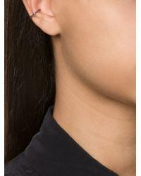 Luis Morais - Black Diamond Ear Cuff - Lyst