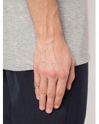 Ann Demeulemeester - Gray Phalanx Ring - Lyst