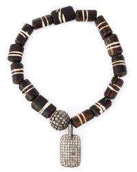 Loree Rodkin | Black Embellished Bracelet | Lyst