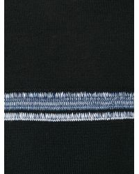 Comme des Garçons - Black Striped Knitted Sweater for Men - Lyst