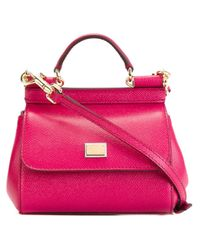 Dolce & Gabbana | Multicolor Mini 'sicily' Tote | Lyst