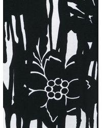 Alexander McQueen - Black Paint Splatter Print T-shirt for Men - Lyst