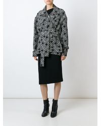 Vivienne Westwood Anglomania - Black Belted Coat - Lyst