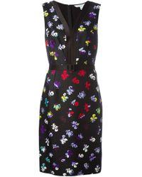 Diane von Furstenberg - Black 'melrose' Dress - Lyst