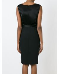 Diane von Furstenberg - Black 'melrose' Dress - Lyst
