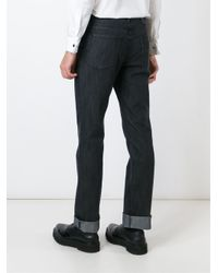 Brioni | Black Stonewashed Jeans for Men | Lyst