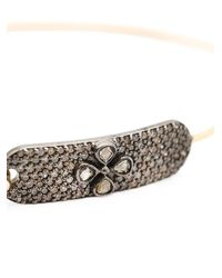 Mathilde Danglade - Pink Flower Diamond Bracelet - Lyst