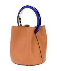 Marni - Brown Pannier Tote Bag - Lyst