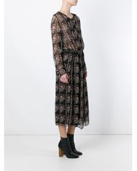 Étoile Isabel Marant - Black 'saphir' Dress - Lyst