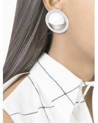 Damir Doma - Metallic Amsterdam Clip-on Earrings - Lyst