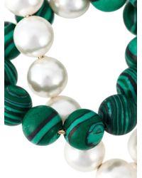 Eshvi - Green 'astro' Necklace - Lyst