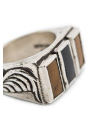 Henson | Gray Triple Floral Ring | Lyst