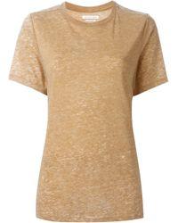 Étoile Isabel Marant - Multicolor Isabel Marant Étoile 'dena' Heathered T-shirt - Lyst