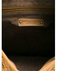 Bottega Veneta - Brown Intrecciato Hobo Tote - Lyst