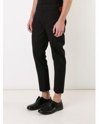 Ann Demeulemeester - Black 'advice' Trousers for Men - Lyst