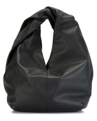 J.W. Anderson | Black Twist Leather Shoulder Bag | Lyst