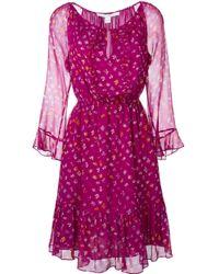 Diane von Furstenberg | Multicolor 'simona' Dress | Lyst