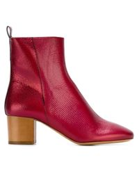 Isabel Marant - Red Étoile 'drew' Ankle Boots - Lyst