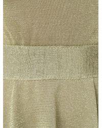 Cecilia Prado - Green Layered Knit Dress - Lyst