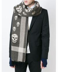 Alexander McQueen - Multicolor Skull Scarf for Men - Lyst