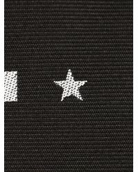 Givenchy - Black Striped And Star Jacquard Tie for Men - Lyst