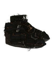 Heikki Salonen - Black 'patch Sole' Boots - Lyst