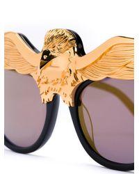 Anna Karin Karlsson - Black 'eaglet' Sunglasses - Lyst