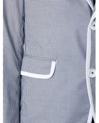 Education From Young Machines | Gray Contrast Trim Jacket for Men | Lyst
