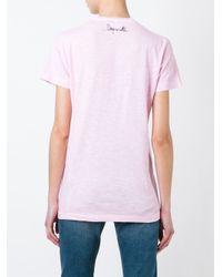 DSquared² - Multicolor Lip Print T-shirt - Lyst