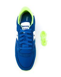 Saucony - Blue Panelled Sneakers for Men - Lyst