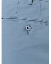 Loro Piana - Blue Slim Fit Trousers for Men - Lyst