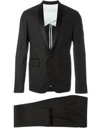 DSquared² | Black - Satin Lapel Two-piece Suit - Men - Silk/cotton/polyester/wool - 50 for Men | Lyst